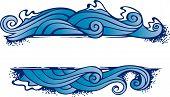 Постер, плакат: Рама четыре элемента: вода