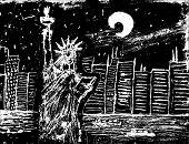 picture of statue liberty  - New York City - JPG