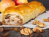 pic of phyllo dough  - Apfelstrudel  - JPG