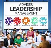 foto of responsible  - Adviser Leadership Management Director Responsibility Concept - JPG
