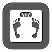 stock photo of scale  - The scales icon - JPG