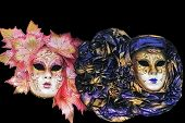 picture of venice carnival  - Carnival masks of Venice - JPG