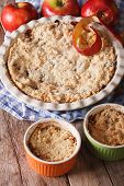 picture of crisps  - Traditional apple crisp close - JPG