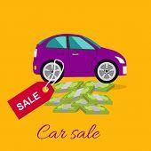 Car Sale Concept poster