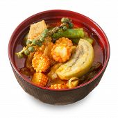 Постер, плакат: Delicious Red Curry With Pork And Coconut Milk