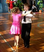 picture of waltzing  - Ballroom dances - JPG