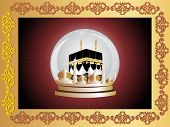 wallpaper for ramadan celebration, vector illustration