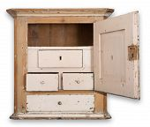 stock photo of armoire  - Cupboard or wall cabinet - JPG