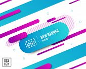 Dj Controller Line Icon. Music Sound Sign. Musical Device Symbol. Diagonal Abstract Banner. Linear D poster