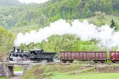 picture of former yugoslavia  - steam freight train  - JPG