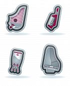 picture of congas  - 4 icons from Construction Industry theme from left to right top to bottom - JPG