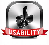 usability user friendly design and ergonomic internet or website