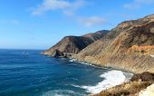 stock photo of bixby  - Bixby Bridge on a beautiful winter day in Big Sur - JPG