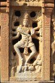 pic of karnataka  - Stone statue of Nataraja in dance pose at Nandish Temple in Nandi Hills near Bengaluru Karnataka India Asia - JPG