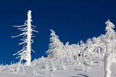 pic of ural mountains  - Winter snow - JPG