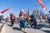 pic of parade  - Tyumen - JPG