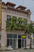 picture of corbel  - Interesting old building facade in Ruse town - JPG