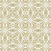 stock photo of damask  - Damask seamless pattern - JPG