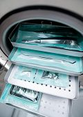 picture of decontamination  - Medical autoclave for sterilising surgical and other instruments - JPG