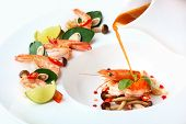 foto of thai food  - Thai famous food prawn spicy soup or as known as  - JPG
