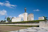 Ernesto che Guevara. Bronze Statue In Plaza De La Revolution, Near Museum. The National Heros Ash poster