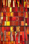 image of stained glass  - Religious Windows - JPG