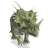 Постер, плакат: Динозавр Стиракозавры