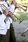 Постер, плакат: Musicians At The Festival Of Military Bands