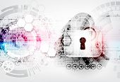 Secure Digital Space. Virtual Confidential, Structure Point Connection, Programming Protection, Padl poster