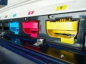 pic of dtp  - modern digital printing press - JPG