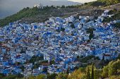 View Of The Blue City Of Chefchaouen In Morocco  Africa, Arabia, Chefchaouen, Morocco, African Cultu poster