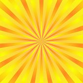 Yellow Background Superhero. Super Hero Cartoon Gradient Texture. Sun Rays Burst. Radiate Sun Beam,  poster