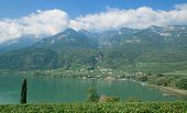 Lake Caldaro,South Tyrol,Italy