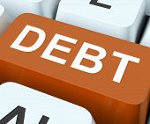 Debt Key Show Indebtedness Or Liabilities.