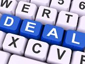 Deal Key Means Agreement Or Dealing.