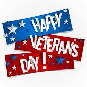 image of veterans  - Creative Abstract Happy Veterans Day vector Illustration - JPG