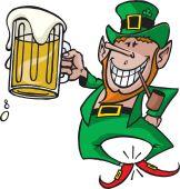 image of st patrick  - A happy St Patrick - JPG