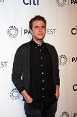 LOS ANGELES - MAR 23:  Ian De Caestecker at the PaleyFEST 2014 -
