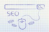 stock photo of ebusiness  - conceptual design about SEO - JPG