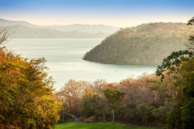 image of papagayo  - Scenic view of the harbor of the Golfo de Papagayo in Guanacaste Costa Rica - JPG