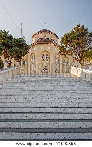 Santorini Exo Gonia Church