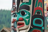 foto of north-pole  - Totem pole by North American Native indians - JPG