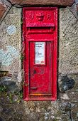 pic of reign  - An old rural Royal mail post box from the reign of Queen Victoria - JPG