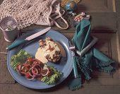 Grilled Tuna W/ Aioli Sauce poster