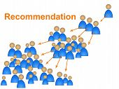 stock photo of recommendation  - Recommendations Recommend Meaning Vouched For And Endorsed - JPG