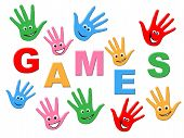 pic of youngster  - Games Kids Meaning Play Time And Youngster - JPG