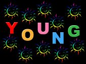 picture of youngster  - Young Kids Meaning Toddlers Joy And Youngster - JPG