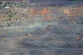 foto of iron ore  - Iron ore opencast mining  - JPG