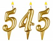 picture of 5s  - candles number five hundred forty - JPG