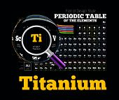 image of periodic table elements  - Periodic Table of the element - JPG